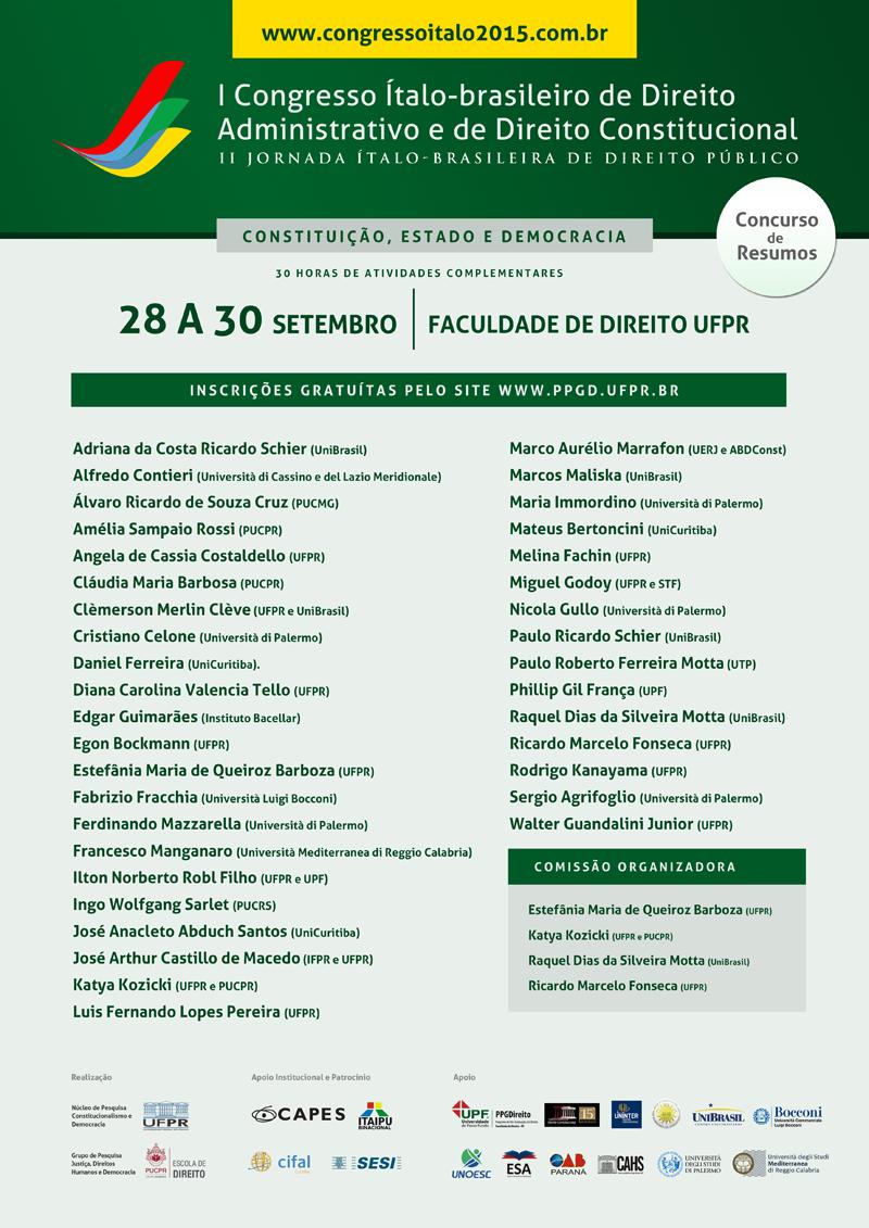 Locandina Convegno Italo-brasiliano 28 30 settembre